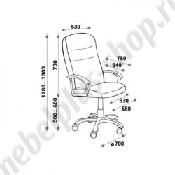 Кресло для руководителя - БОНА