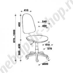 Кресло для персонала - СФЕРА