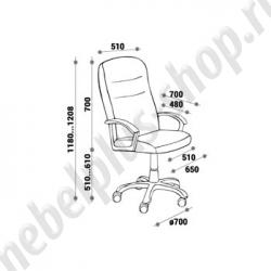 Кресло для руководителя - МОРГАН