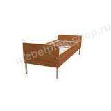 Кровать одноярусная с царгами КМ7-8