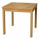 Стол обеденный на 4 человека (пластик+массив)