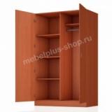 Шкаф для одежды комбинированный 2-створчатый