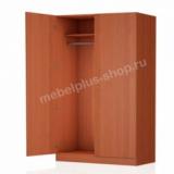 Шкаф платяной 2-створчатый (задняя стенка ЛДСП)