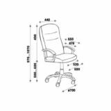 Кресло для руководителя - ЕВА LB